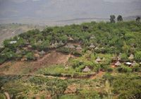 A Konso village in southern Ethiopia